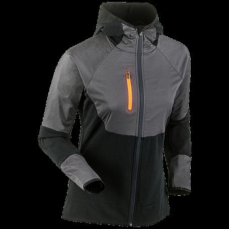 Купить Жакет беговой Bjorn Daehlie 2017-18 Full Zip Sweater Wmn Black, Одежда для бега и фитнеса, 1375251