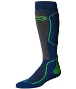 НоскиНоски<br>Легкие и теплые горнолыжные носки&amp;nbsp;<br> <br> -состав 77% шерсти мериноса, 21% нейлон, 2% elastane.&amp;nbsp;<br> -воздухопроницаемы, устойчивы к образованию неприятных запахов, выводят лишнюю влагу&amp;nbsp;<br> -амортизирующие вставки&amp;nbsp;<br> -плоские швы&amp;nbsp;