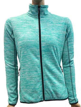 Купить Флис для активного отдыха GTS 2017-18 DAMEN Strickfleece mint, Одежда туристическая, 1366459