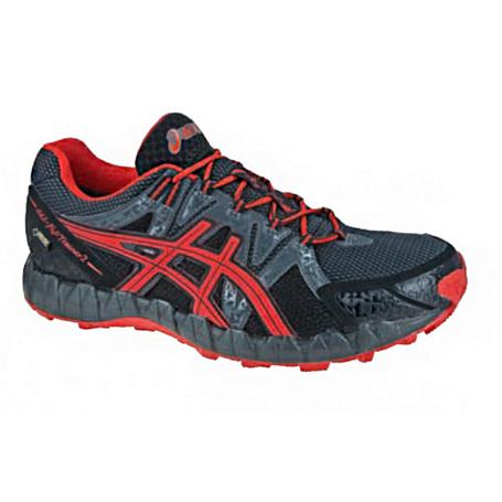 Купить Беговые кроссовки для XC Asics 2013-14 GEL-FUJITRAINER 2 GTX черный/красный/темно-серый, Кроссовки бега, 918458
