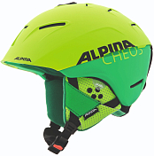 Зимний Шлем Alpina CHEOS two-green matt