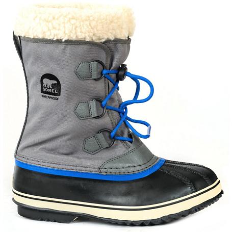 Купить Ботинки городские (средние) Sorel 2017-18 YOOT PAC NYLON City Grey, Обувь для города, 1362972
