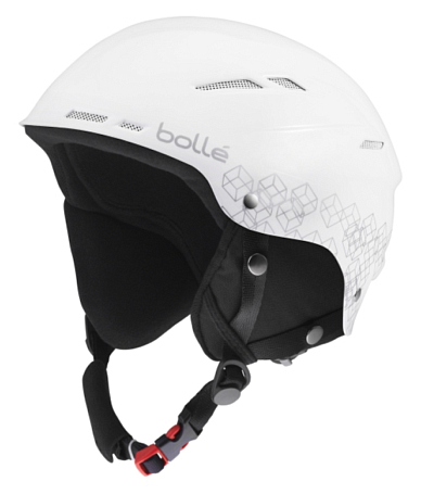 Зимний Шлем Bolle 2015-16 B-RENT SHINY WHITE  SILVER