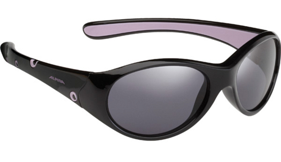 Купить Очки солнцезащитные Alpina JUNIOR / KIDS Flexxy Girl black-lilac/black mirror S3 1131869