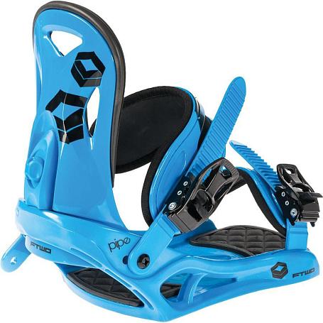 Купить Сноуборд крепления FTWO 2014-15 PIPE Blue 1154066