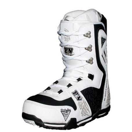 Купить Ботинки для сноуборда Black Fire 2011-12 B&W White 764696