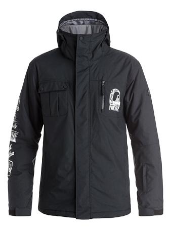 Купить Куртка сноубордическая Quiksilver 2016-17 Mission Art M SNJT KVJ0 Одежда 1279573