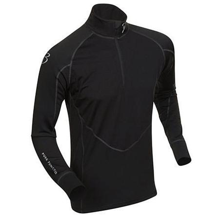 Купить Футболка с длинным рукавом беговая Bjorn Daehlie Top FINNMARK Black (черный), Одежда лыжная, 859105