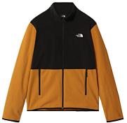 Флис горнолыжный The North Face 2020-21 Tka Glacier Full Zip Citrine Yellow/Tnf Black