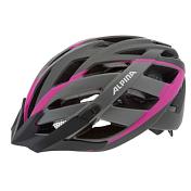 Летний шлемШлемы велосипедные<br>Классический универсальный велосипедный шлем с превосходной посадкой теперь имеет элегантный матовый дизайн. Panoma L.E. - верный компаньон в ежедневных поездках до работы и выездов по выходным. 23 вентиляционных отверстия.<br>Безопасность:<br><br>Оболочка InmoldПроизводственный процесс заключается в нагревании до высокой температуры внешней поликарбонатной оболочки и запекании ее на EPS-тело шлема под высоким давлением. Этот процесс создает неразрывную связь по всей поверхности между внутренней и внешней оболочками, благодаря этому шлем получается не только очень легким, но и чрезвычайно стабильным.<br>Hi-EPSВнутренняя оболочка выполнена из Hi-EPS (вспениный полистирол). Этот материал состоит из множества микроскопических воздушных камер, которые эффективно поглощают силу удара. Hi-EPS обеспечивает оптимальную защиту в сочетании с экстратонкими стенками.<br>CeramicМатериал объединяет несколько преимуществ: устойчив к ударам и царапинам, содержит ультрафиолетовые стабилизаторы и антистатичен.<br><br>Эргономика:<br><br>Run System ClassicЕсли вы используете свой велосипед для того, чтобы съездить по магазинам, вам не нужна сложная система регулировки. Система подгонки Run System Classic отвечает этим требованиям красивым, простым и надежным колесом регулировки. Система Run System Classic проста в использовании и держит шлем надежно, там где он должен быть - на голове.<br>Y-ClipШлем может обеспечить правильную защиту, только если он остается на месте в случае удара. Крепление, которое соединяет две полоски под ухом имеет решающее значение в этом случае. Система Y-Clip Alpina гарантирует идеальную подгонку до последнего миллиметра за считанные секунды.<br>ErgomaticПроверенная бесчисленное количество раз, эта пряжка используется во всех шлемах Alpina. Из особенностей: красная кнопка приводящая в действие механизм автоматической многоступенчатой регулировки. Пряжку можно расстегнуть или застегнуть одной рукой, так, например, вы можете осла