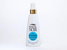 КремКосметика и уход<br>Эксперты лаборатории SOLEIL NOIR разработали неповторимую витаминизированную формулу молочка после загара. Комплекс растительных масел &amp;#40;оливы и бурачника&amp;#41;, которые питают и восстанавливают кожу. Аллантоин и алоэ вера снимают раздражение настолько эффективно, что средства SOLEIL NOIR после загара можно использовать для успокоения кожи после бритья или эпиляции. Наконец, витаминный комплекс оказывает мощное антиоксидантное воздействие и предотвращает образование свободных радикалов, тем самым противодействуя старению кожи.<br>Объем 150 мл <br>•&amp;nbsp;&amp;nbsp;&amp;nbsp;&amp;nbsp;Морской коллаген стимулирует регенерацию<br>•&amp;nbsp;&amp;nbsp;&amp;nbsp;&amp;nbsp;Гиалуроновая кислота снижает интенсивность потери влаги<br>•&amp;nbsp;&amp;nbsp;&amp;nbsp;&amp;nbsp;Витамины С, Е и F с жирными кислотами Омега-3 оказывают антиоксидантное действие<br>•&amp;nbsp;&amp;nbsp;&amp;nbsp;&amp;nbsp;Провитамин В5 способствует регенерации, повышению эластичности и смягчению кожи<br>•&amp;nbsp;&amp;nbsp;&amp;nbsp;&amp;nbsp;Масла оливы и бурачника питают и восстанавливают<br>•&amp;nbsp;&amp;nbsp;&amp;nbsp;&amp;nbsp;Экстракт алоэ вера и аллантоин увлажняют, успокаивают и снимают раздражение<br>•&amp;nbsp;&amp;nbsp;&amp;nbsp;&amp;nbsp;Подходит для чувствительной кожи после эпиляции и бритья<br>Применение: нанести после пребывания на солнце. Ежедневное использование предотвратит солнечные ожоги и улучшит регенерацию кожи.