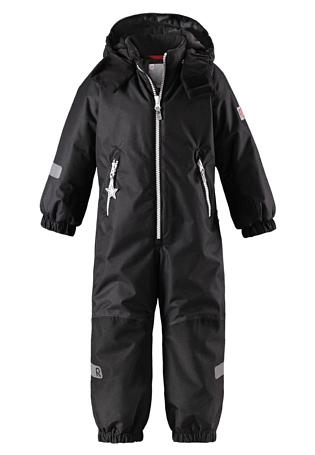 Купить Комбинезон горнолыжный Reima 2017-18 Finn Black Детская одежда 1351632