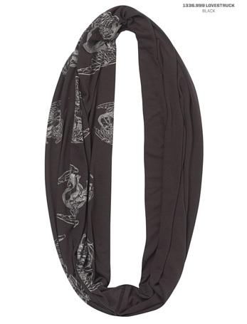 Купить Шарф BUFF URBAN Varsity LOVESTRUCK BLACK Банданы и шарфы Buff ® 879536