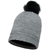 Шапка Buff SKI CHIC COLLECTION KNITTED & POLAR HAT BUFF AURA GREY CHIC