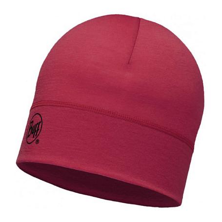 Купить Шапка BUFF WOOL MERINO 1 LAYER HAT SOLID GRANA Банданы и шарфы Buff ® 1263596