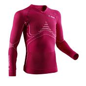 Футболка X-bionic 2016-17 Junior En_accumulator UW Shirt LG SL P075 / Розовый