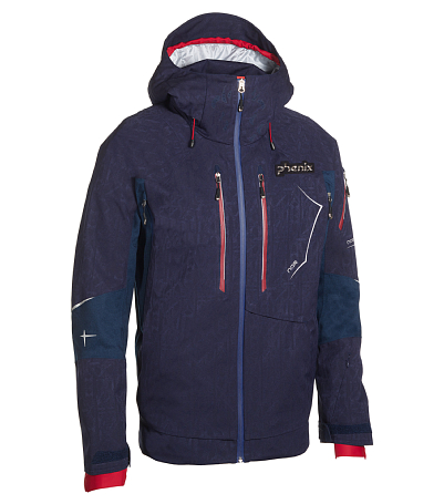 Куртка горнолыжная PHENIX 2015-16 Norway Alpine Team 3 in 1 Jacket