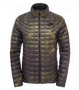 Куртка туристическая THE NORTH FACE 2015-16 M THERMOBALL FZP JKT BK IK GN GTC BK/GN / черный