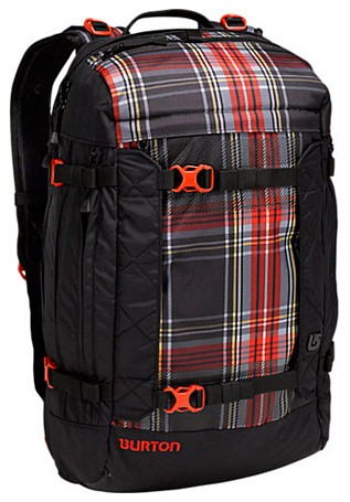 Рюкзак BURTON 2013-14 RIDERS PACK 25 BLACK PLAID