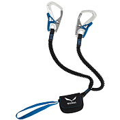 Веревка (Усы самостраховки) Salewa SET VIA FERRATA ERGO CORE SILVER/ROYAL BLUE