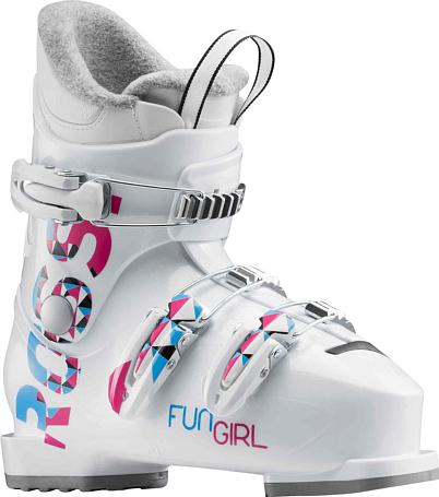 Купить Горнолыжные ботинки ROSSIGNOL 2017-18 FUN GIRL J3 WHITE Ботинки горнoлыжные 1363798