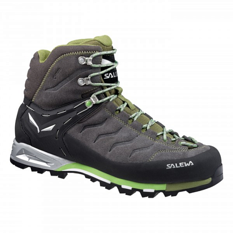 Ботинки для альпинизма Salewa Alpine Approach MS MTN TRAINER MID GTX Pewter/Emerald /