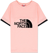 Футболка для активного отдыха The North Face 2020 Girl's Rafiki S/S Impatiens Pink