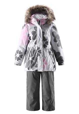 Купить Костюм горнолыжный Reima 2015-16 Scenic pale grey Детская одежда 1197325