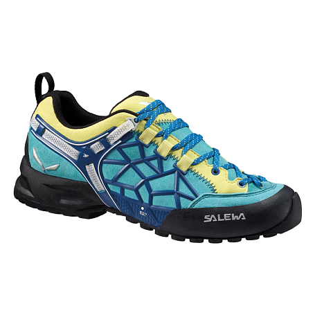 Треккинговые кроссовки Salewa Tech Approach WS WILDFIRE PRO Bright Acqua/Reef /