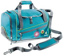 Сумка на плечоСумки для города<br>Вместительная сумка для спортивной формы<br> <br> -большое основное отделение<br> -вентилируемое отделение для обуви<br> -передний и боковой карман на молнии<br> -внутренние карманы из сетки<br> -плечевой ремень регулируется<br> -материал Deuter-Super-Polytex - прочная, легкая универсальная ткань из нитей 600 den с усиленным ПУ покрытием<br> -вес 480 гр<br> -объем 20 л<br> -размеры 43 * 32 * 24 см<br><br>Пол: Унисекс<br>Возраст: Детский