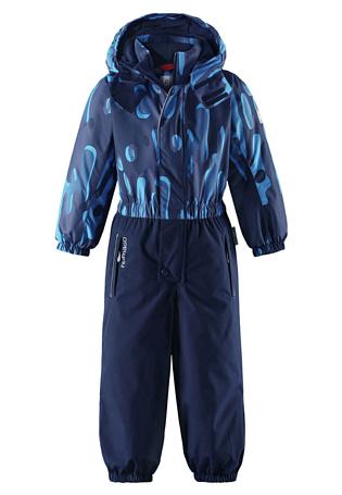 Купить Комбинезон горнолыжный Reima 2017-18 Kemi Navy Детская одежда 1351649