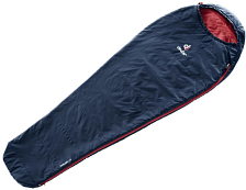 Спальник Deuter 2020 Dreamlite L Левый Navy/Cranberry