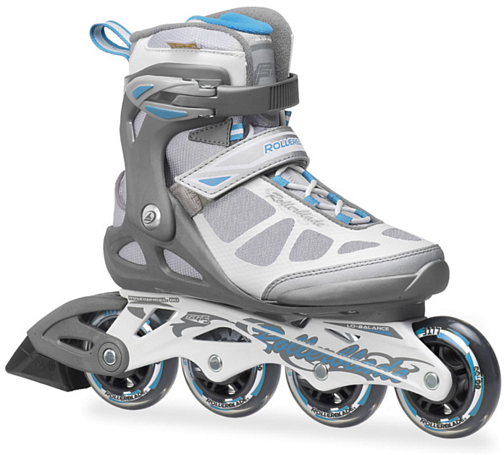 Купить Роликовые коньки Rollerblade 2014 MACROBLADE W ANTHRACITE/LIGHT BLUE Ролики взрослые 1076279
