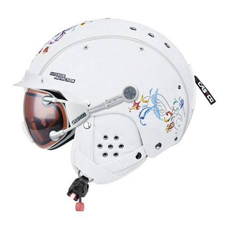 Зимний Шлем Casco SP-3 Limited Birds white