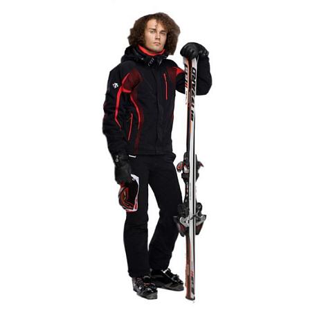 Купить Брюки горнолыжные DESCENTE 2011-12 SWISS PANT BLACK/BLACK, Одежда горнолыжная, 744812