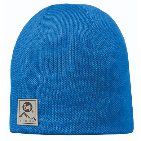 Шапка BUFF KNITTED HATS BUFF SOLID BLUE