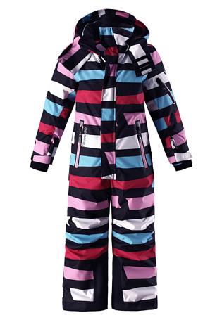 Купить Комбинезон горнолыжный Reima 2017-18 Reach Berry Детская одежда 1364901