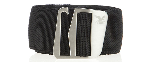 Ремень Salewa ALPINE ESSENTIALS ACCESSORIES HOOK-OK STRETCH BELT black