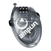 Замок Amplifi 2018-19 Wire Lock (Small) clear black