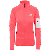 Флис горнолыжный The North Face 2018-19 W IMPENDOR PD JKT ATOMIC PINK DARK