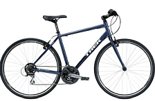 Велосипед Trek 7.1 FX 22.5 HBR 700C 2015 Dark Metallic Blue/Silver