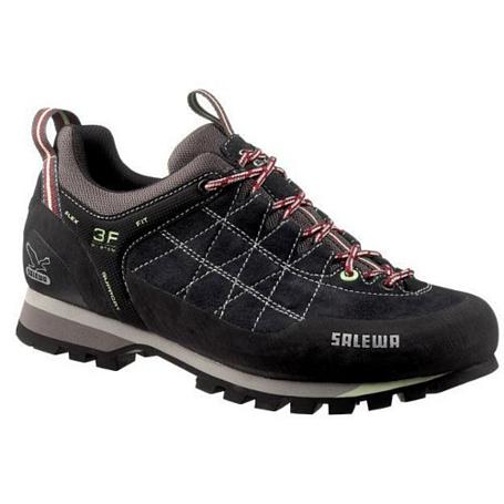 Купить Ботинки для альпинизма Salewa Alpine Approach WS MTN TRAINER carbon-mint Треккинговая обувь 693205