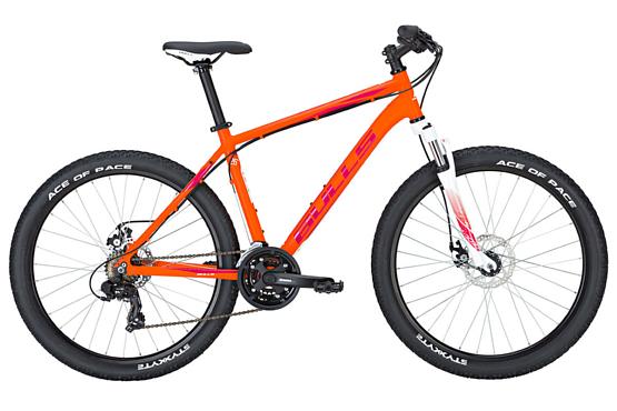 Купить Велосипед Bulls Nandi 27,5 2017 Оранжевый Горные спортивные 1339331