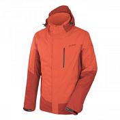 Куртка для активного отдыхаОдежда для активного отдыха<br>Универсальная четырехсезонная мужская куртка со съемным флисом &amp;lt;b&&amp;#40;Polarlite &amp;#43; Powertex&amp;#41;. Подойдет для походов в горы, для походов с изменением климата, велопутешествий и города.<br><br>Применение: походы в горы, походы с изменением климата, путешествия, велопутешествия, повседневное использование в городе.<br><br>Особенности:<br>- влагозащитные, ветрозащитные и дышащие свойства<br>- съемный теплый флис &amp;#40;в комплекте с курткой&amp;#41;<br>- съемный регулируемый капюшон с козырьком, прячется в воротник<br>- рукава удобной формы<br>- манжеты на липучках<br>- передняя застежка молния с внешним защитным клапаном<br>- стяжки удобно регулировать одной рукой<br>- удобная нагрудный карман с водоотталкивающей молнией<br>- 2 внешних кармана на молниях<br>- дополнительная вентиляция на молнии под руками<br>- прямой крой<br><br>Технические характеристики:<br>Материал: 100% полиэстер<br>Материал флиса: 100% полиэстер Polarlite micro 165<br>Мембрана: Powertex Performanc, двухслойная 2L 8/5 T-square 90<br>Показатель водонепроницаемости: 5 000 мм<br>Показатель воздухопроницаемости: 8 000 г/м2/24 ч<br>Пропитка: водоотталкивающая &amp;#40;DWR - durable water-repellent&amp;#41;<br>Подкладка: сетка<br>Длина спины: 78 см &amp;#40;50/L&amp;#41;<br>Вес: 984 г &amp;#40;50/L&amp;#41;<br><br>Polarlite - легкий, теплый, прочный материал с пустотелой структурой волокна, это обеспечивает сохранение теплого воздуха внутри каналов, таким образом достигается эффект согревания. Материал приятный на ощупь, быстро сохнет.