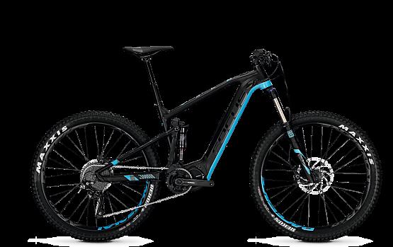 Купить Электровелосипед FOCUS 2018 JAM2 PLUS LTD 10,5AH 36V blackm/blue, Горные электровелосипеды, 1382733
