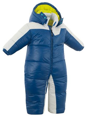 Купить Комбинезон горнолыжный Salewa Kid BAY DWN BABY OVERALL sea blue100 (синий) Детская одежда 680227