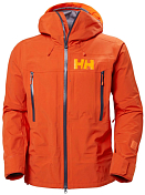 Куртка горнолыжная HELLY HANSEN 2020-21 Sogn Shell 2.0 Patrol Orange
