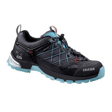 Ботинки для треккинга (низкие) Salewa Junior Approach JUNIOR FIRETAIL WATERPROOF carbon-atoll