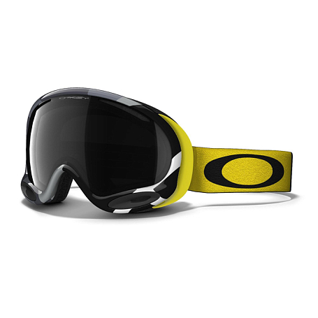 Очки горнолыжные Oakley AFRAME 2.0 FLIGHT SERIES YELLOW GRAPHITE DARK GREY