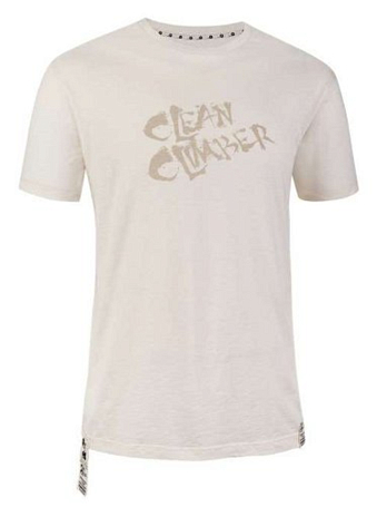 Футболка для активного отдыха Salewa La Mano CLEAN CLIMB CO M S/S TEE cloud/5480